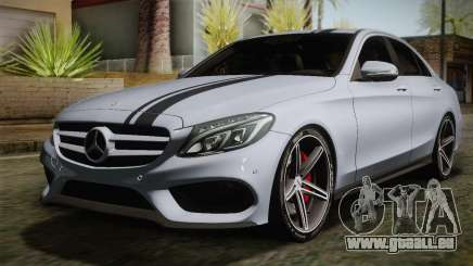 Mercedes-Benz C250 AMG Edition 2014 SA Plate für GTA San Andreas