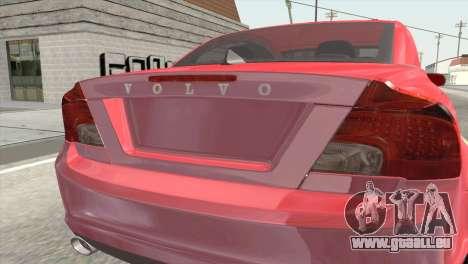 Volvo C70 2011 Stock für GTA San Andreas Rückansicht