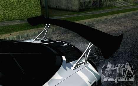 Mazda RX-7 MadMike pour GTA San Andreas vue arrière