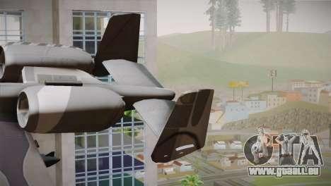 A-10A The Idolmaster -SP- pour GTA San Andreas sur la vue arrière gauche