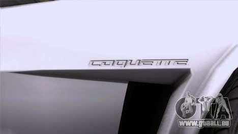 GTA 5 Invetero Coquette Classic HT SA Mobile pour GTA San Andreas vue de droite