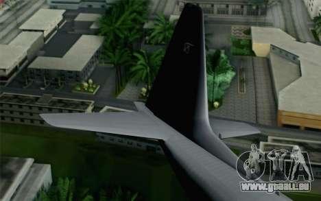 C-130H Hercules Polish Air Force für GTA San Andreas zurück linke Ansicht