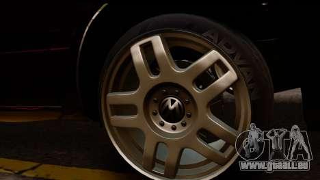 Volkswagen Golf Mk3 pour GTA San Andreas vue de droite