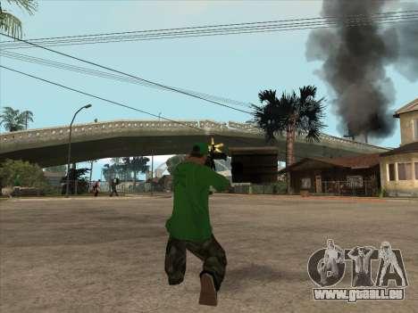 SCHNUR von Battlefield 3 für GTA San Andreas fünften Screenshot