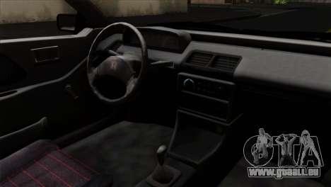 Honda Civic EF Hatchback pour GTA San Andreas vue de droite