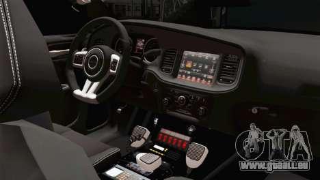Dodge Charger 2013 LSPD für GTA San Andreas rechten Ansicht