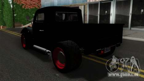 GTA 5 Bravado Rat-Truck SA Mobile pour GTA San Andreas laissé vue