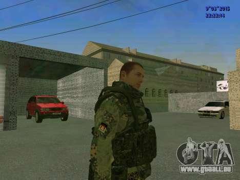 Un combattant de Sparte bataillon pour GTA San Andreas deuxième écran