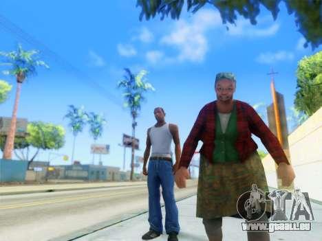ENB Graphics Enhancement v2.0 für GTA San Andreas zweiten Screenshot