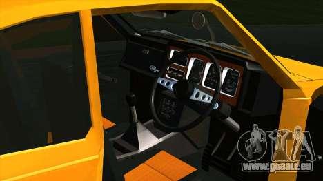 Mitsubishi Minica Skipper pour GTA San Andreas vue arrière
