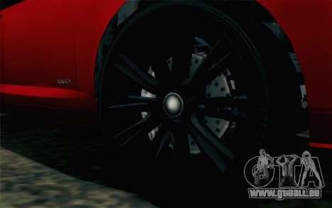GTA 5 Karin Kuruma v2 pour GTA San Andreas sur la vue arrière gauche