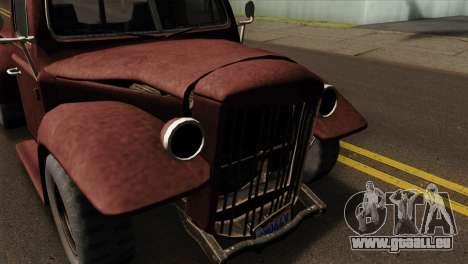 GTA 5 Bravado Rat-Loader IVF für GTA San Andreas rechten Ansicht