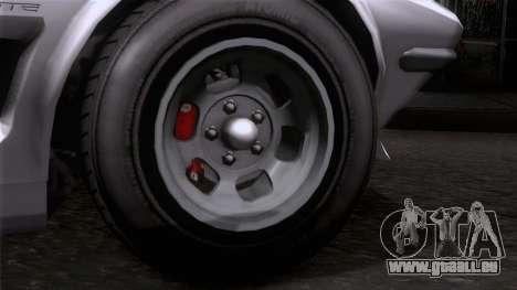 GTA 5 Invetero Coquette Classic HT SA Mobile pour GTA San Andreas sur la vue arrière gauche
