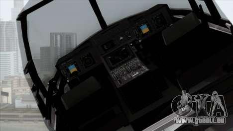 MV-22 Osprey USAF für GTA San Andreas rechten Ansicht