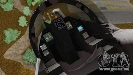 Dassault Rafale M Pisces für GTA San Andreas Rückansicht