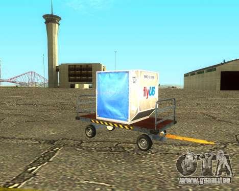 New Bagbox B für GTA San Andreas rechten Ansicht