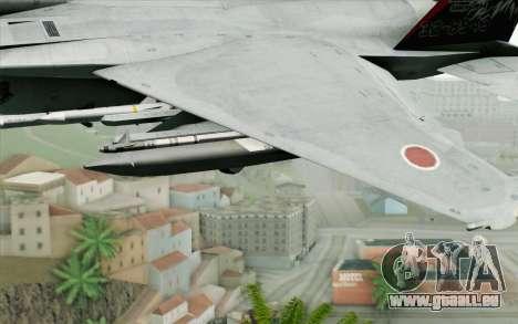 F-15J Kai 60th Anniversary of JASDF pour GTA San Andreas vue de droite