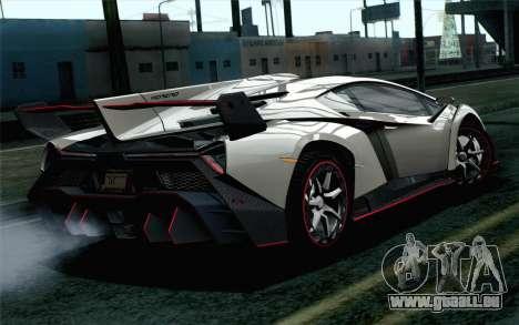 NFS Rivals Lamborghini Veneno pour GTA San Andreas laissé vue