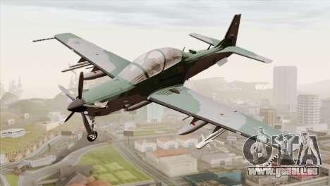 Embraer A-29B Super Tucano FAB pour GTA San Andreas