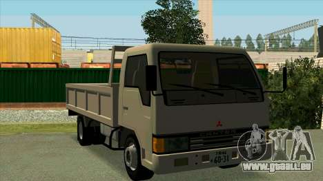Mitsubishi Fuso Canter 1989 Flat Body pour GTA San Andreas vue intérieure