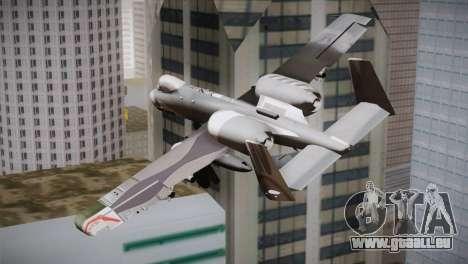 A-10A The Idolmaster -SP- pour GTA San Andreas laissé vue