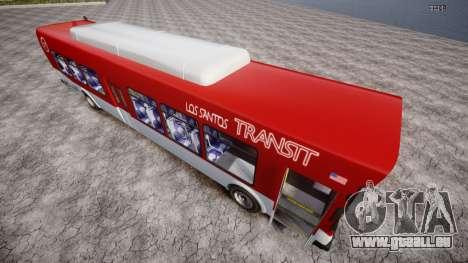 GTA 5 Bus v2 für GTA 4 hinten links Ansicht
