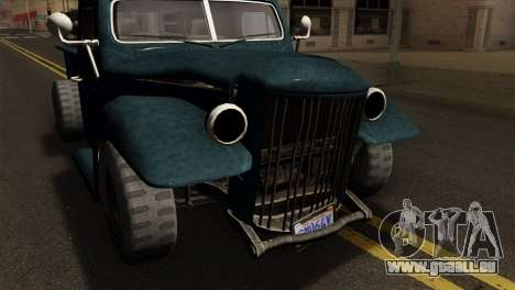 GTA 5 Bravado Rat-Loader pour GTA San Andreas vue de droite