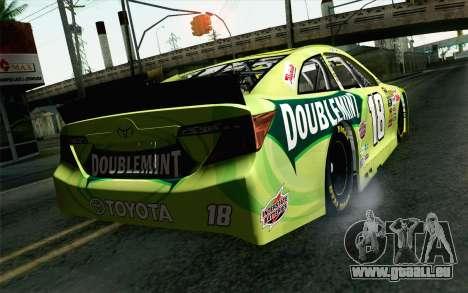 NASCAR Toyota Camry 2013 v4 pour GTA San Andreas laissé vue