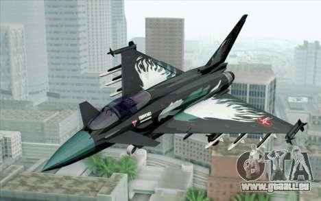 EuroFighter Typhoon 2000 Black Hawk pour GTA San Andreas