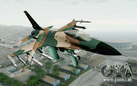 F-16C Fighting Falcon Aggressor 272 für GTA San Andreas