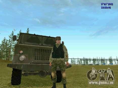 Guerrier bataillon Fantôme pour GTA San Andreas deuxième écran