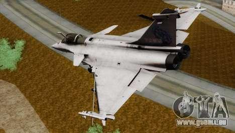 Dassault Rafale M Pisces pour GTA San Andreas laissé vue