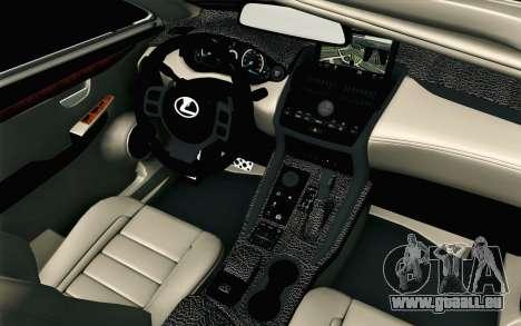 Lexus NX 200T v2 pour GTA San Andreas vue de droite