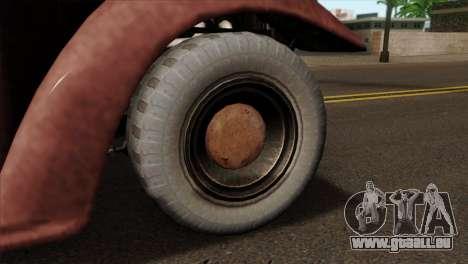 GTA 5 Bravado Rat-Loader IVF für GTA San Andreas zurück linke Ansicht