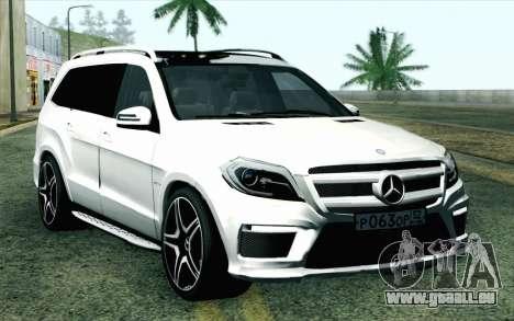 Mercedes-Benz GL63 AMG 2014 für GTA San Andreas