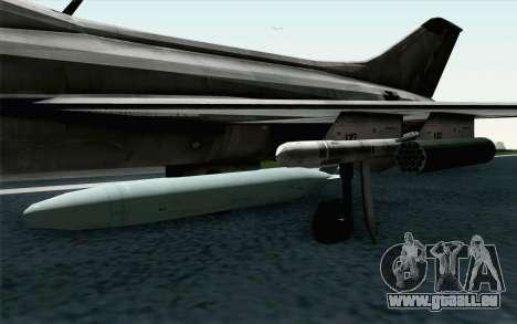 MIG-21 Fishbed C Vietnam Air Force für GTA San Andreas rechten Ansicht