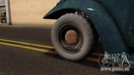 GTA 5 Bravado Rat-Loader pour GTA San Andreas sur la vue arrière gauche