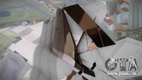 F-15 JASDF 50th Anniversary für GTA San Andreas rechten Ansicht