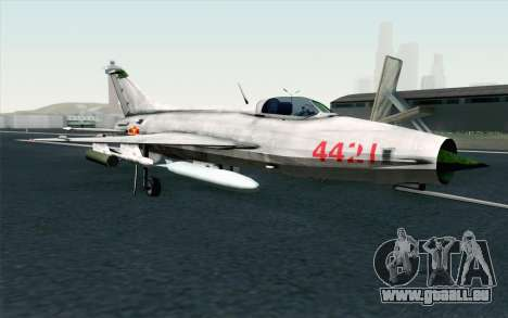 MIG-21 Fishbed C Vietnam Air Force pour GTA San Andreas