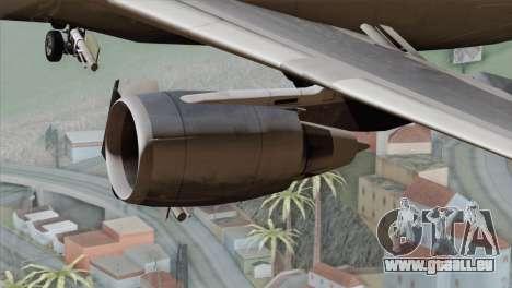 DC-10-30 Garuda Indonesia pour GTA San Andreas vue de droite