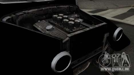 GTA 5 Bravado Rat-Truck SA Mobile pour GTA San Andreas vue arrière