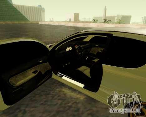 Peugeot 206 Street Racer Tuning pour GTA San Andreas vue arrière