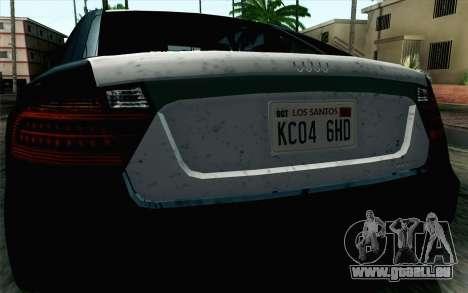 GTA 5 Karin Kuruma v2 SA Mobile pour GTA San Andreas vue de droite