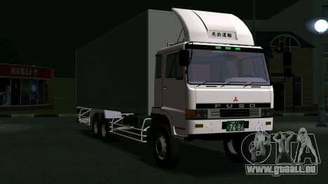 Mitsubishi Fuso The Great Box für GTA San Andreas linke Ansicht