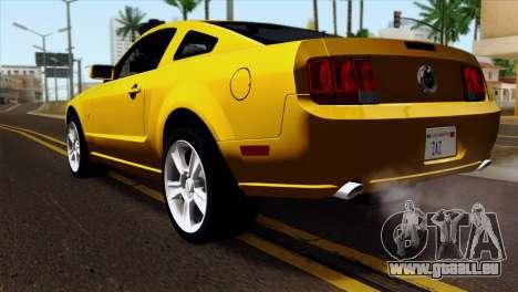 Ford Mustang GT Wheels 1 für GTA San Andreas linke Ansicht