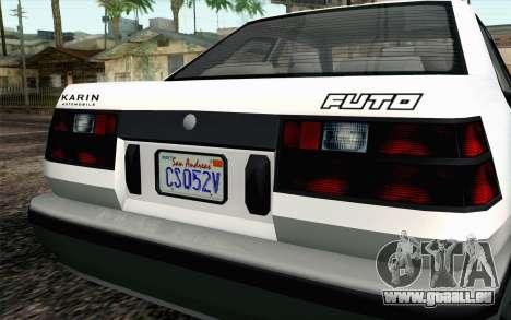 GTA 5 Karin Futo IVF pour GTA San Andreas vue de droite