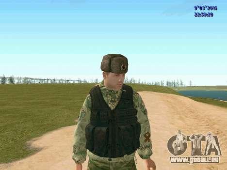 Guerrier bataillon Fantôme pour GTA San Andreas troisième écran