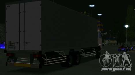 Mitsubishi Fuso The Great Box für GTA San Andreas rechten Ansicht