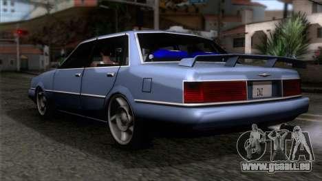 Primo GT pour GTA San Andreas laissé vue