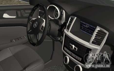 Mercedes-Benz GL63 AMG 2014 für GTA San Andreas rechten Ansicht
